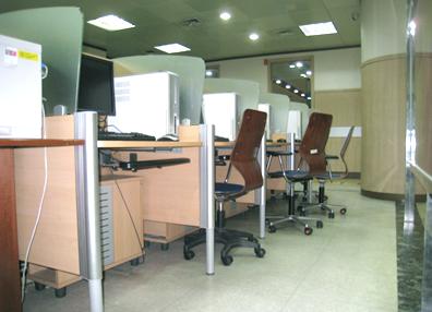 마포삼열기념관 2층 전산실습실 장애인 이용석
